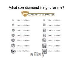 1.20 Ct. Round Cut Diamond Accents Promise Engagement Ring Solid 14K Rose Gold