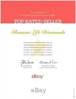 2 Ct Round Cut Diamond Solitaire Accent Solid 14K Yellow Gold Engagement Ring