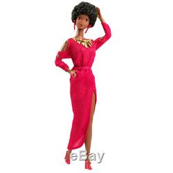 Barbie Black First African American Barbie 1979 + Golden Accent NRFB