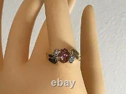 Brand-new 10k Gold 1.97 Carat Azotic Topaz & Accent Ring 3.45gr. + Ring Box