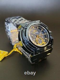 Invicta X-Wing Blue Label Winged Pushers Chronograph Watch Gold Accents