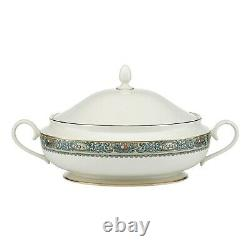LENOX Autumn Covered Vegetable Bowl 80oz. 24kt Gold Accents Made USA NEW