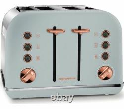 MORPHY RICHARDS Collection Traditional Kettle and Toaster Set GREY & Rose Gold