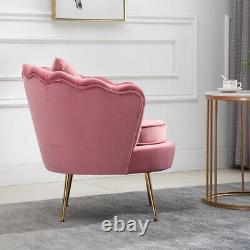 Oyster Accent Armchair Sofa Chair with Free Cushion Lounge Living Room Bedroom