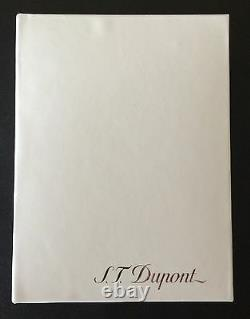 S. T. Dupont Slim 7 Lighter, Black with Gold Accents, 27708 (027708), New In Box