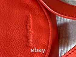 See By Chloe Red Leather Small Crossbody Purse Nwt
