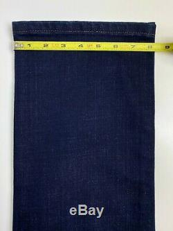 Stefano Ricci Jeans Dark Navy Brown Accents Gold Hardware Incredible Size 31x32