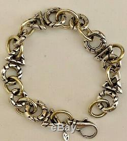 Sterling Silver with 18K Yellow Gold Accents Bracelet Paradox By John Atencio